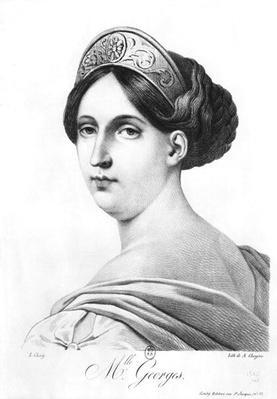 Mademoiselle George, 1825
