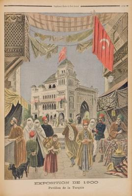 The Turkish Pavilion at the Universal Exhibition of 1900, Paris, illustration from 'Le Petit Journal', 3rd June 1900