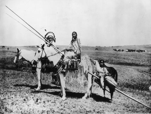 Blackfoot Family | Native American Civilizations | U.S. History