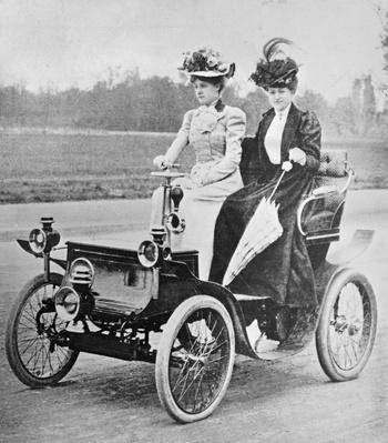 De Dion Car   Evolution of the Automobile
