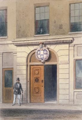 The Entrance to Tallow Chandler's Hall, 19th