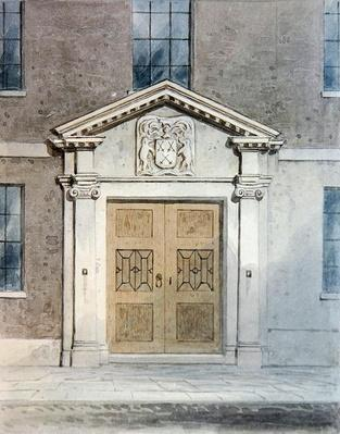 The Entrance to the Cutlers Old Hall, 1850