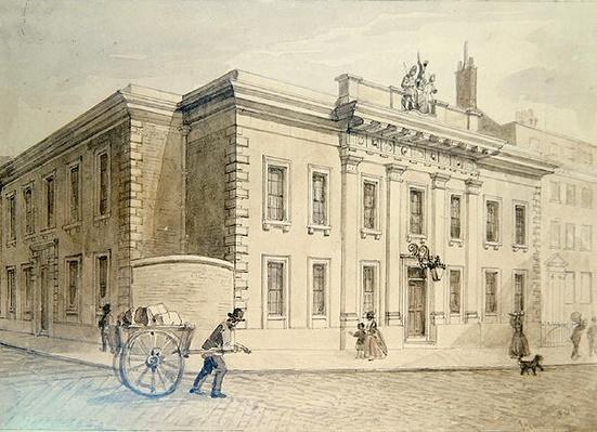 The Armourers' and Braziers' New Hall, 1850