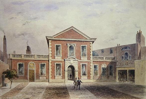 Barber Surgeons Hall, 1846
