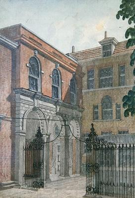 The Inner Court to Old Salters' Hall, 1750