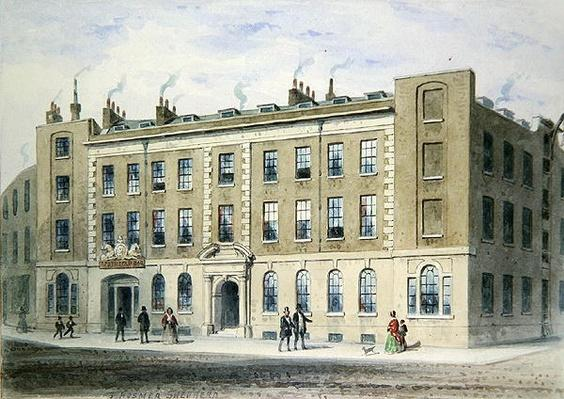 Apothecaries Lane, 1855