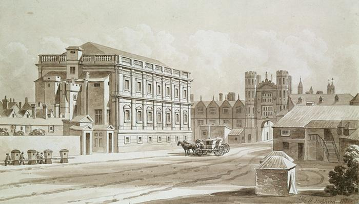 Banqueting House and King's Gate, 1827