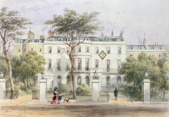 West front of Sir Robert Peel's House in Privy Garden