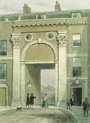 Gateway to the River, Essex Street, 1857