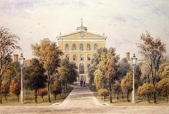 Governor's House, Tothill Fields New Prison, 1852
