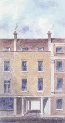 The Old Entrance to Scotland Yard, 1824