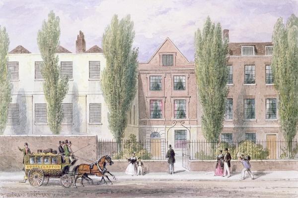 Fisher's House, Lower Street, Islington, 1838