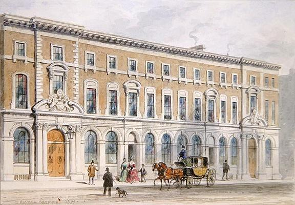 The New Building of Merchant Taylors and Hall, 1853