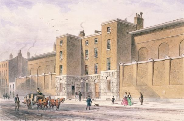North front to St.James's Palace, c.1850
