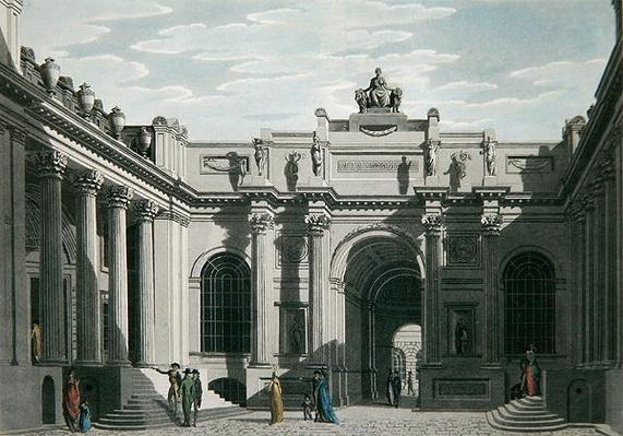 Lothbury Court, Bank of England 1801