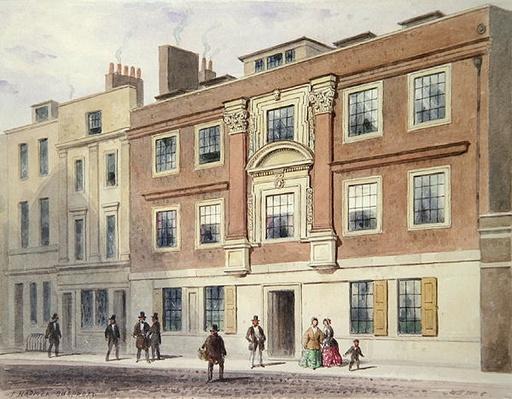 Winchester Street, 1850