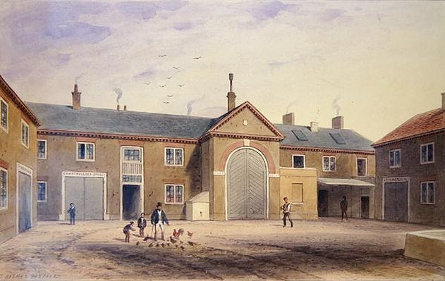 The City Green Yard, 1855