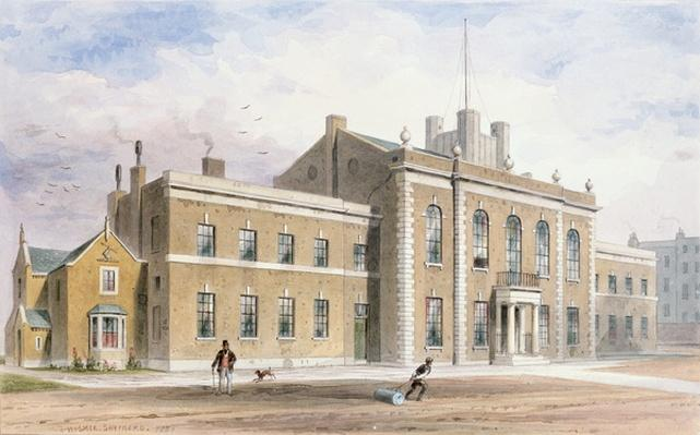 Royal Artillery House, Finsbury Square, 1851