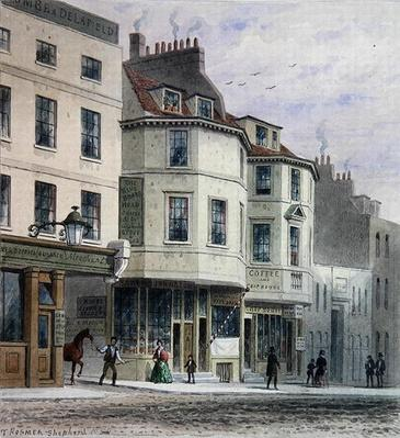 The Boars Head Inn, King Street, Westminster, 1858