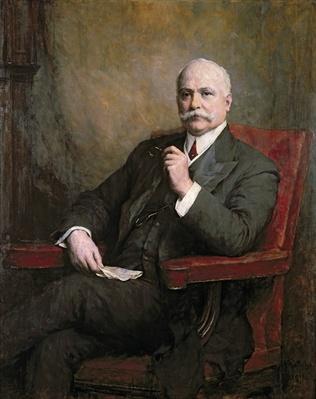 Portrait of Sir Edward Hopkinson Holden