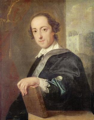 Portrait of Horatio Walpole, 4th Earl of Oxford, 1754