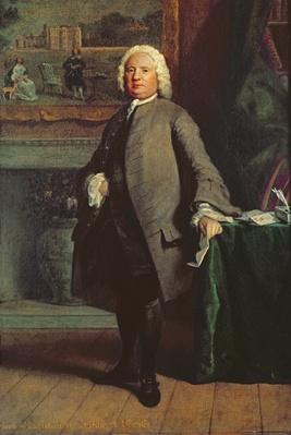 Portrait of Samuel Richardson