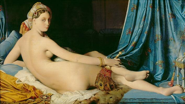 The Grande Odalisque, 1814