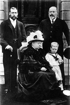 Four Generations of Victorian Royalty, taken at Osborne House, 5th August 1899