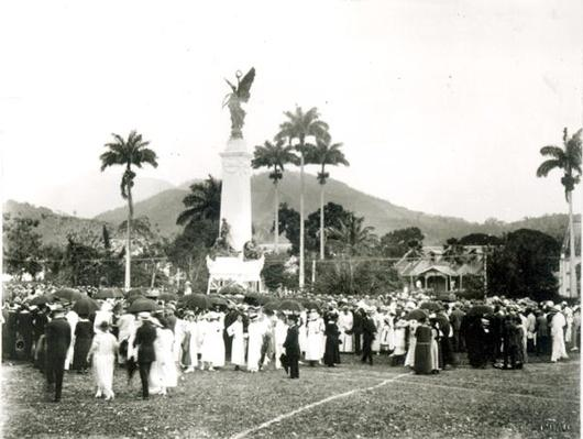 Unveiling of War Memorial, Port of Spain, Trinidad, 1920
