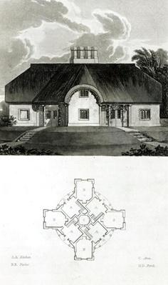 Four Cottages, 1818