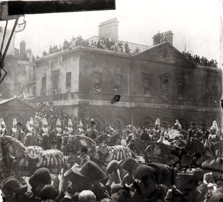 Jubilee Procession in Whitehall, 1887