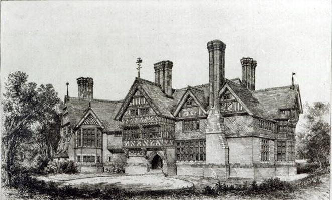 House recently erected at Harrow Weald, from 'The Building News', 6th September 1872