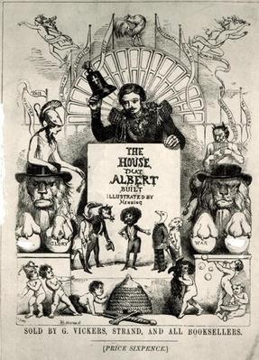 Titlepage from 'The House that Albert Built',1880