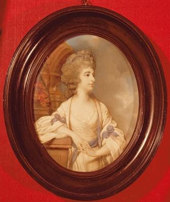 Portrait of Sarah Siddons
