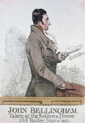 Portrait of John Bellingham