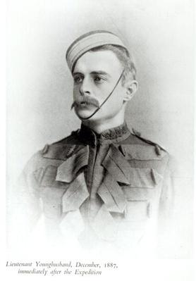 Photograph of Sir Francis Younghusband