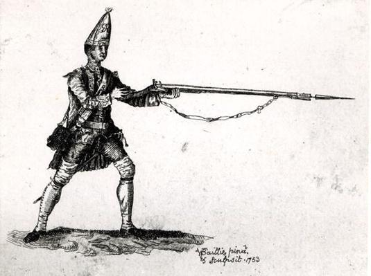 Portrait of a soldier, 1753