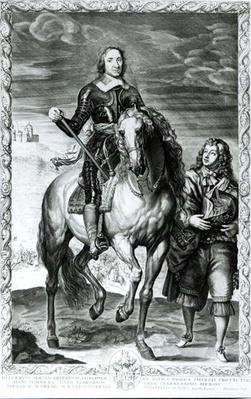 Equestrian Portrait of Oliver Cromwell