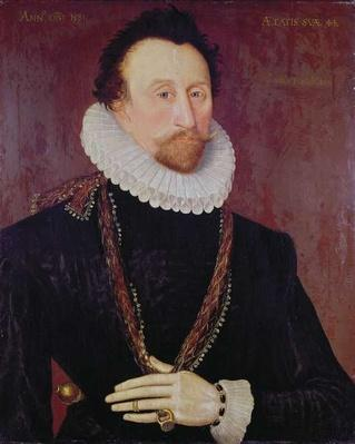 Portrait of Sir John Hawkins