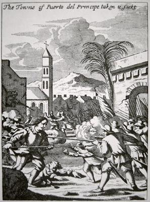 Henry Morgan captures and sacks the town of Puerto de Principe