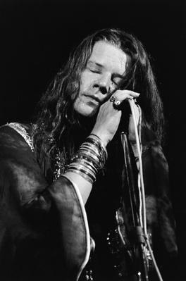 Janis Joplin With Eyes Closed During Performance | 20th Century Music Icons