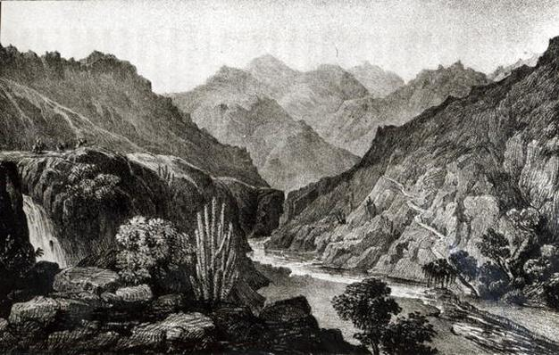 View in the Cordillera