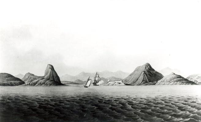 Entrance of the Harbour of Rio de Janeiro