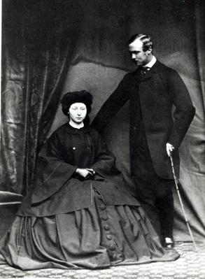 Princess Alice and Prince Ludwig of Hesse, 1860