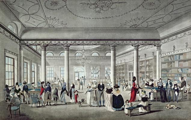 Hall's Library at Margate, 1789