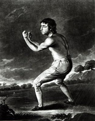 Portrait of Daniel Mendoza, engraved by H. Kingsbury