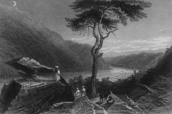 The Valley of the Shenandoah, from Jefferson Rock, 1838