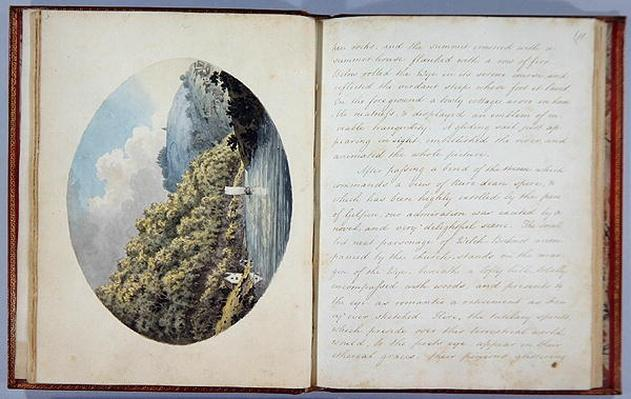 Bishop's Wood, plate 3 and plate 11, from the 'Journal of a Tour down the Wye', printed in 1786