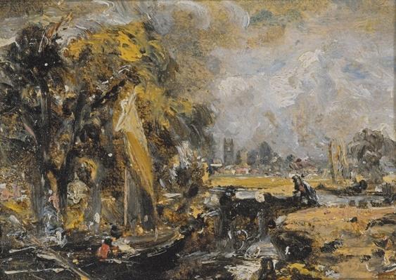 Dedham Lock, c.1819