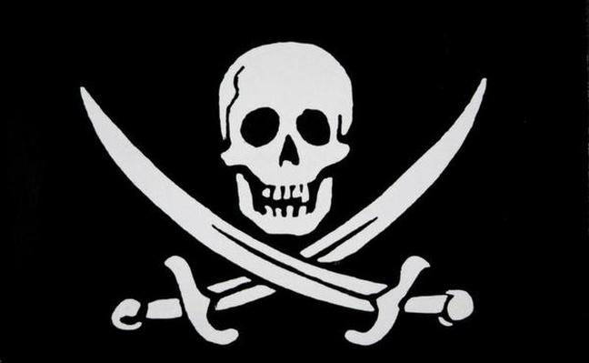 Pirate flag of 'Calico Jack' Rackham